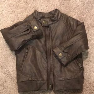 Baby Gap Brown Bomber Jacket size 2T